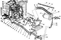 Гидроагрегаты и арматура  (унифицированная кабина) Трактор МТЗ 82 Р