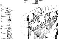 Корпус гидроагрегатов. Фильтр Трактор МТЗ 82 Р