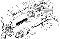 Цилиндр Ц100 Трактор МТЗ 82 Р