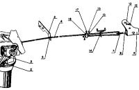 Управление блокировкой дифференциала Трактор МТЗ 82 Р