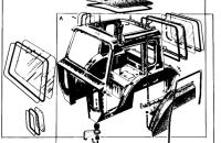 Кабина трактора (Общий вид) Трактор МТЗ 82 Р