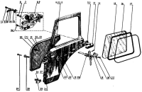 Двери кабины Трактор МТЗ 82 Р