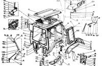 Унифицированная кабина Трактор МТЗ 82 Р