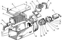 Блок отопления Трактор МТЗ 82 Р