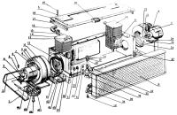 Отопитель. Унифицированная кабина Трактор МТЗ 82 Р