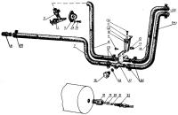 Арматура блока отопления Трактор МТЗ 82 Р