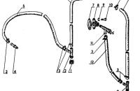 Арматура отопителя. Унифицированная кабина Трактор МТЗ 82 Р
