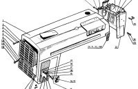 Облицовка радиатора. Капот Трактор МТЗ 82 Р