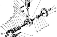 Кривошипно-шатунный механизм Трактор МТЗ 82 Р