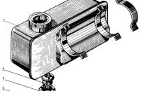 Топливный бак пускового двигателя Трактор МТЗ 82 Р