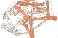 Схема навески Т-150