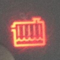 индикатор радиатора на панели приборов
