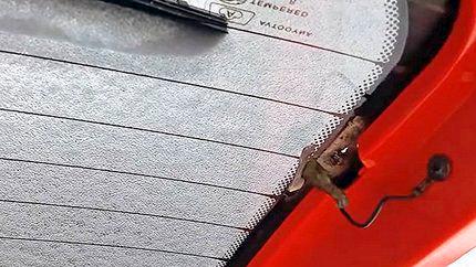 Ремонт нитей обогрева заднего стекла